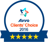 2016 Avvo Clients' choice award Elder Care Attorney NJ