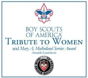 Boy Scouts of America Tribute to Women award logo