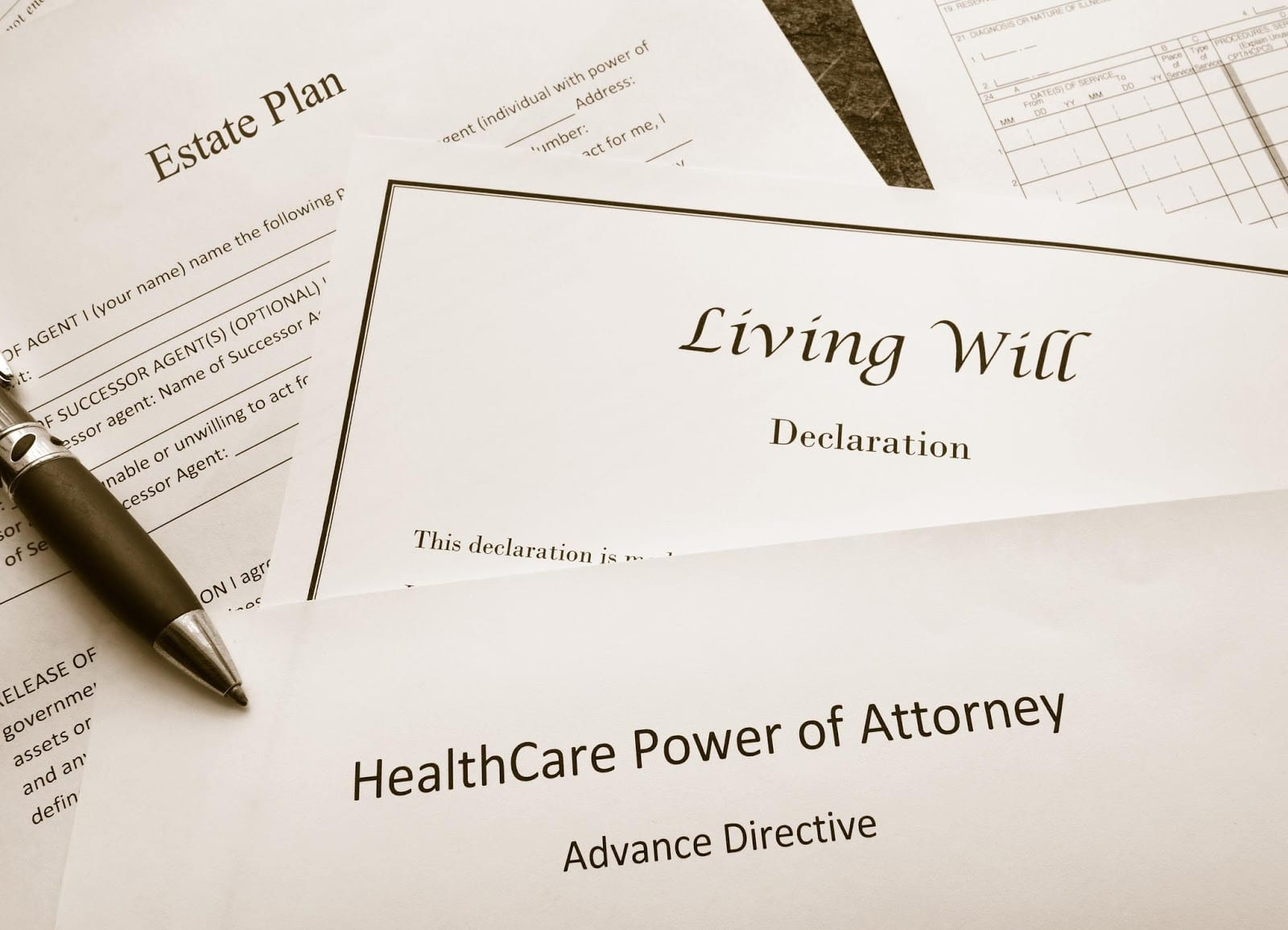 the difference between a living will and a last will njelc