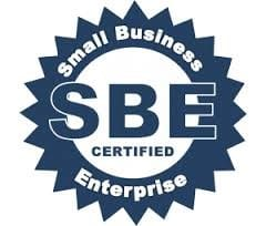 Small business enterprise certification stamp
