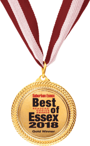 Best of Essex 2018 Gold Winner Award logo