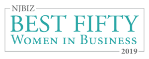 Top Fifty Women in Business award logo